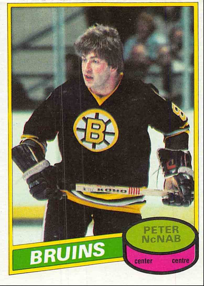 1980-81 O-Pee-Chee Peter McNab #220 card front image