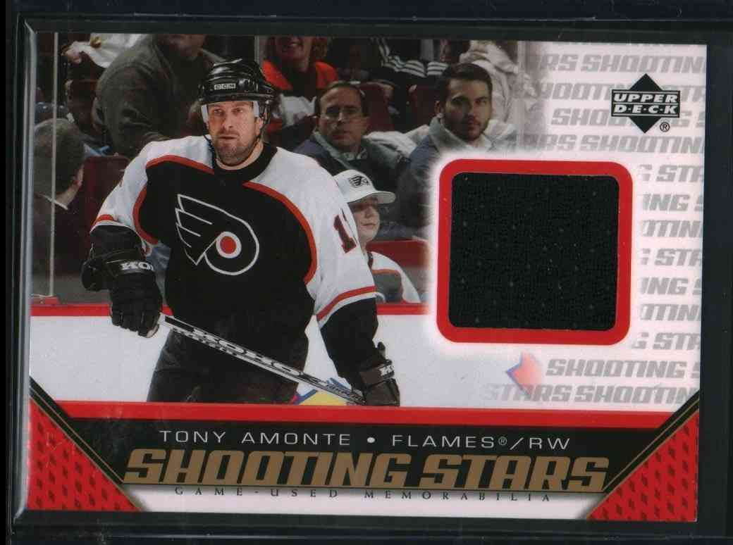 2005-06 Upper Deck Tony Amonte #S-TA card front image