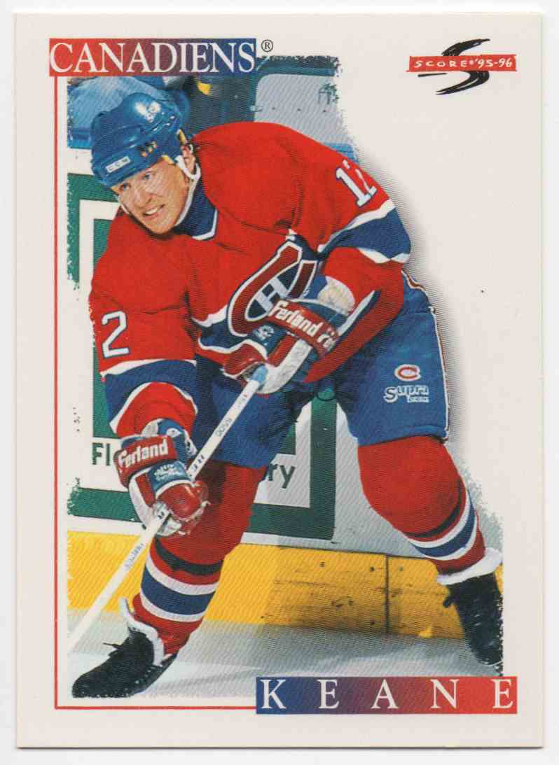 1995-96 Score Mike Keane #266 card front image