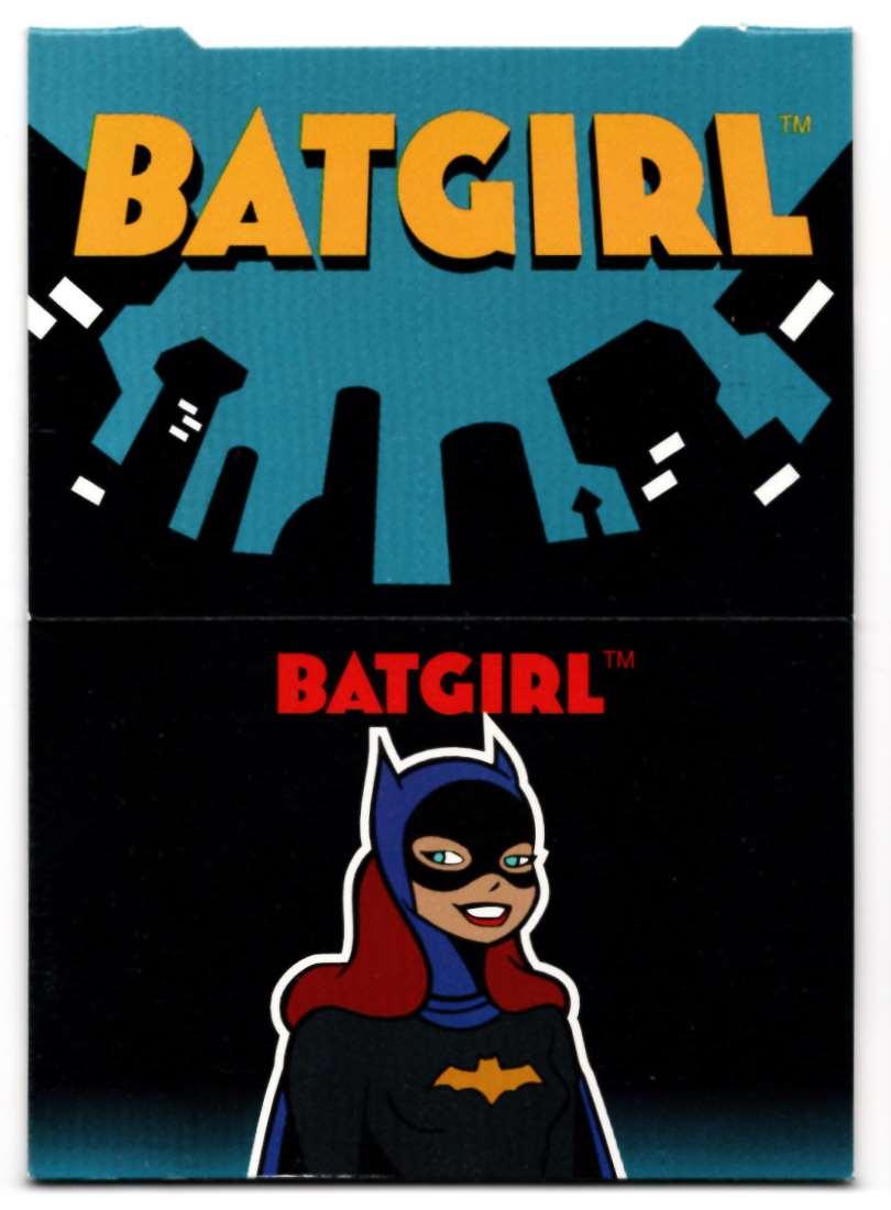 1995 Skybox Adventures Of Batman And Robin Pop Up Card Batgirl #3 card front image