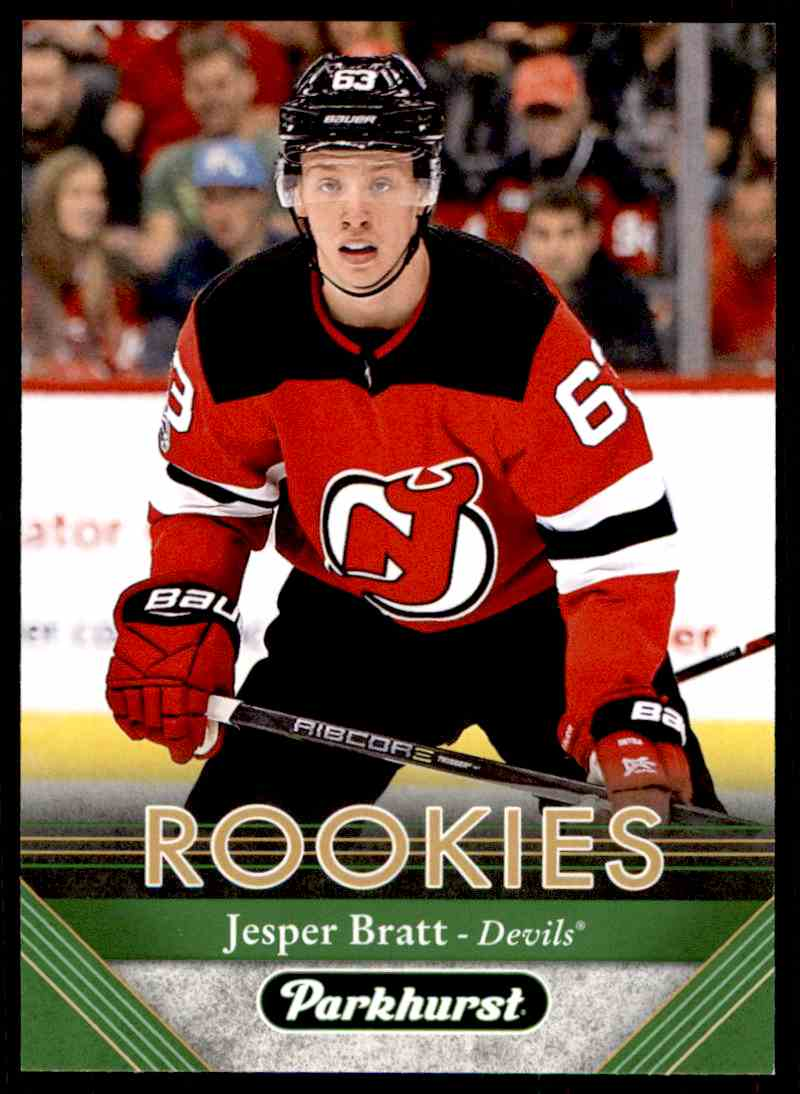 2017-18 Parkhurst Rookies Jesper Bratt #282 card front image