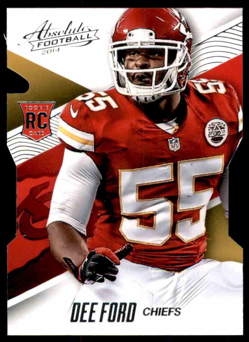 2014 Absolute Retail Dee Ford RC #109 card front image