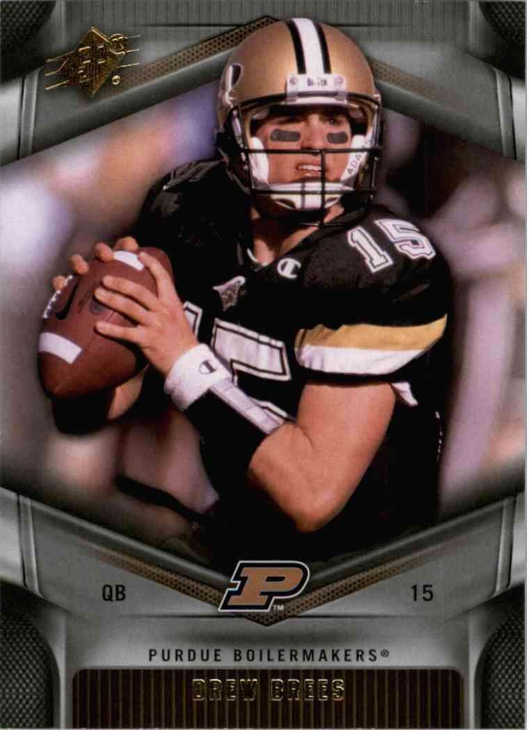 2012 SPx Drew Brees #13 card front image