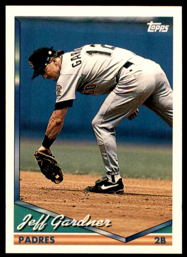 1994 Topps Jeff Gardner #544 card front image