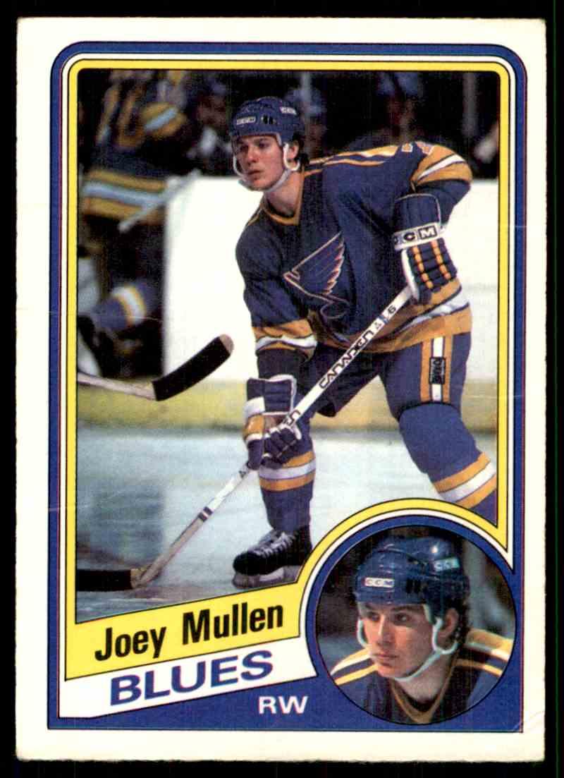 1984-85 O-Pee-Chee Joe Mullen #188 card front image