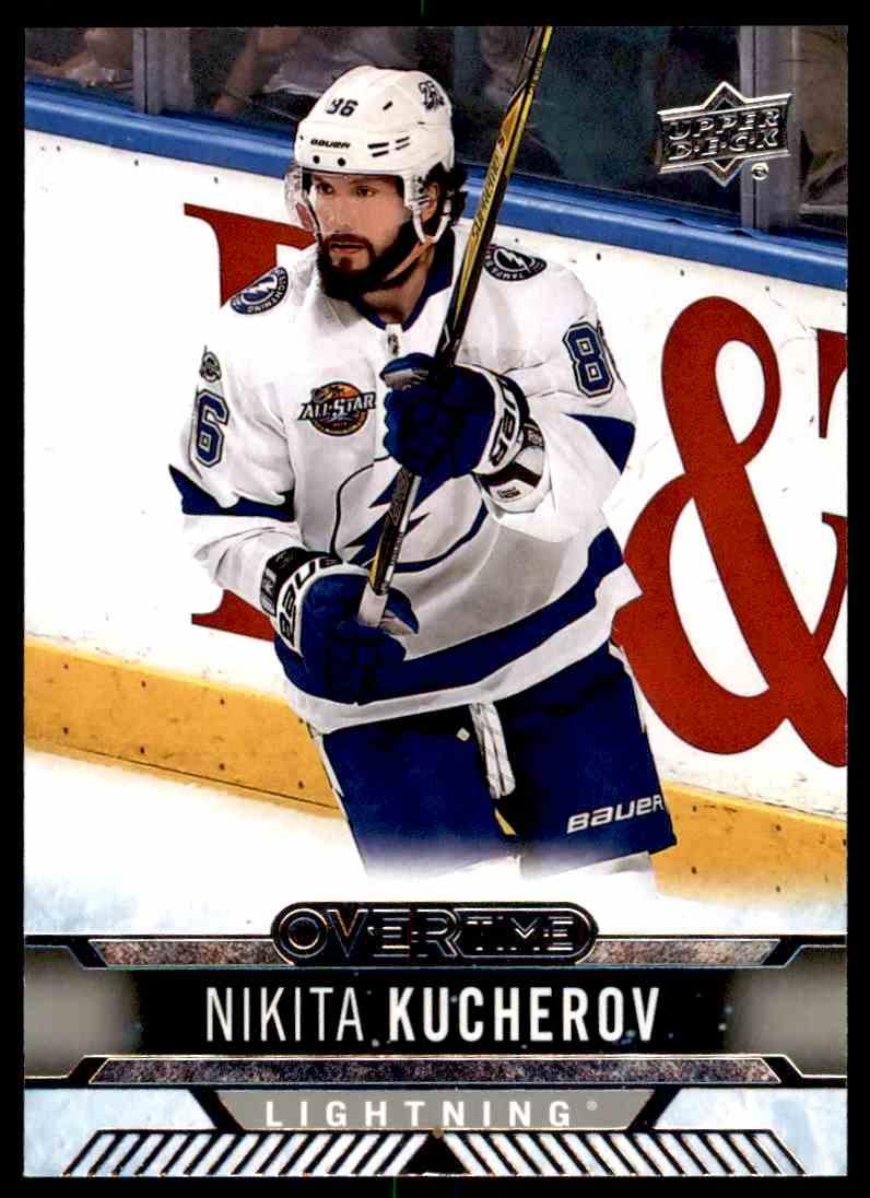2017-18 Upper Deck Overtime Nikita Kucherov #61 card front image