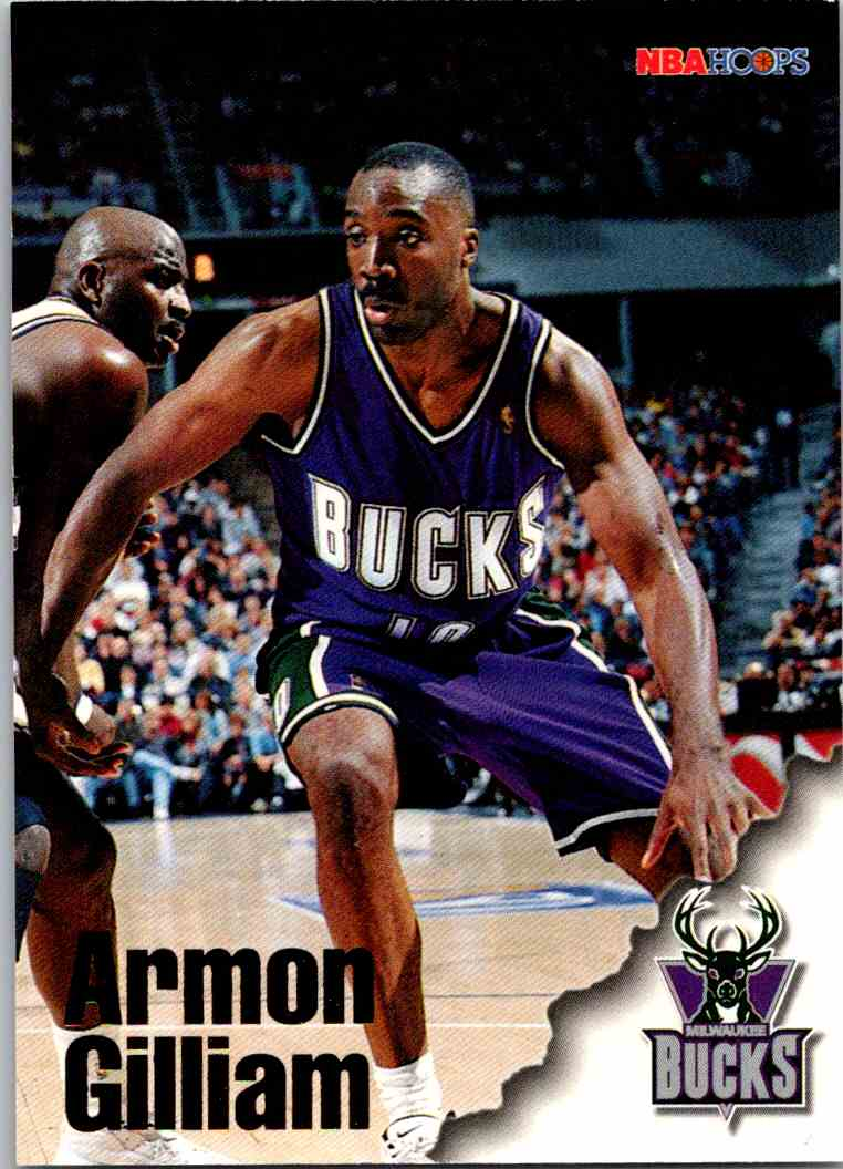 1997-98 NBA Hoops Armon Gilliam #218 card front image