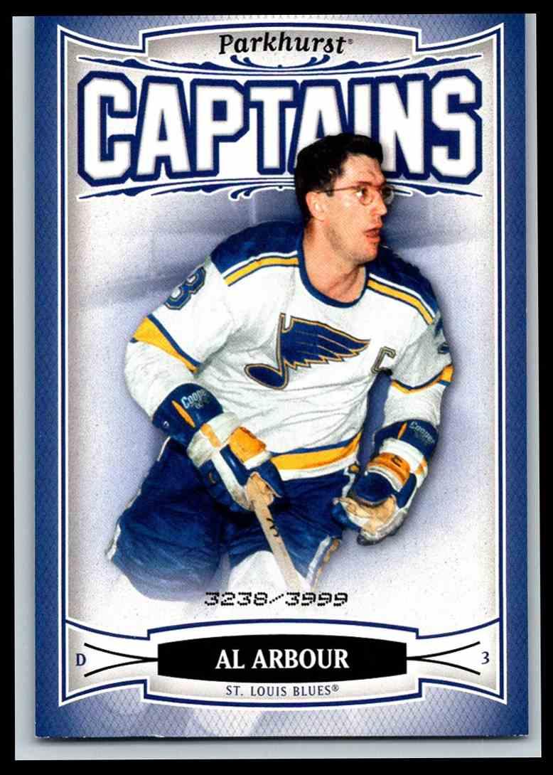 2006-07 Parkhurst Captains Al Arbour #205 card front image
