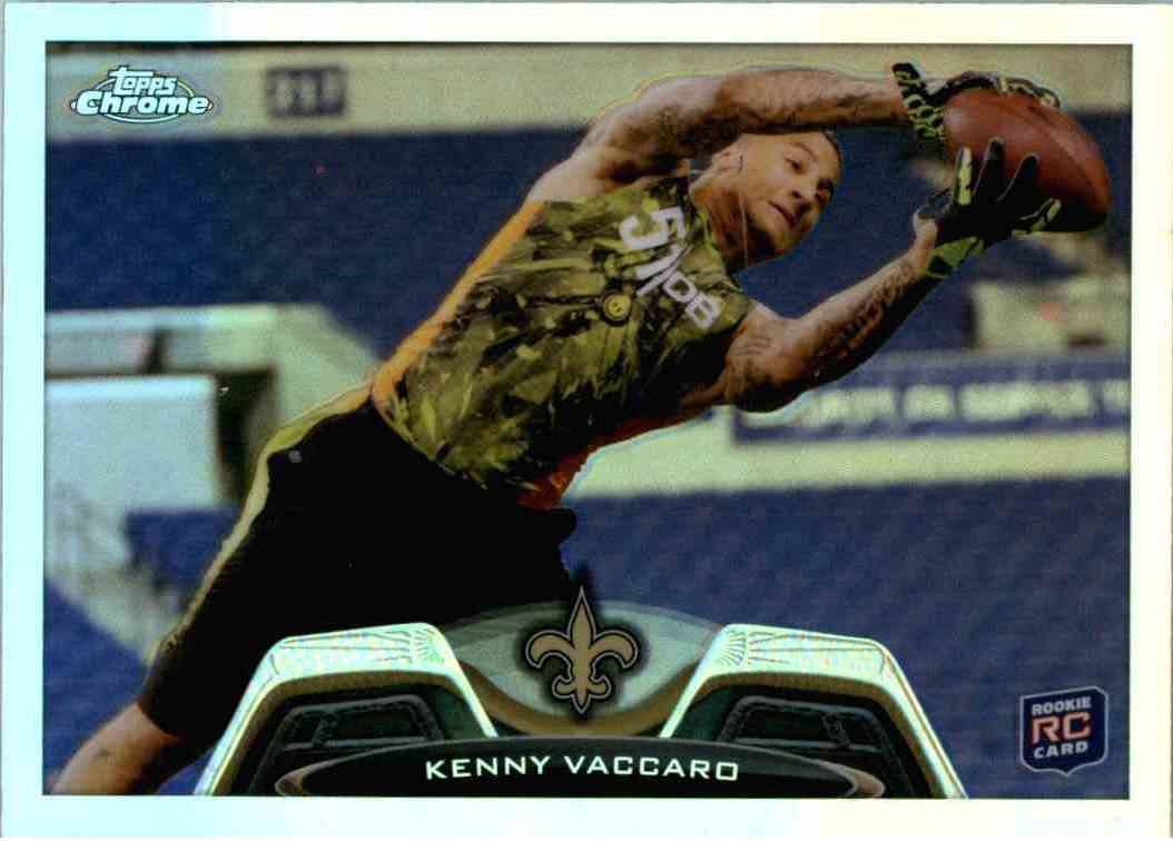 2013 Topps Chrome Kenny Vaccaro #86 card front image