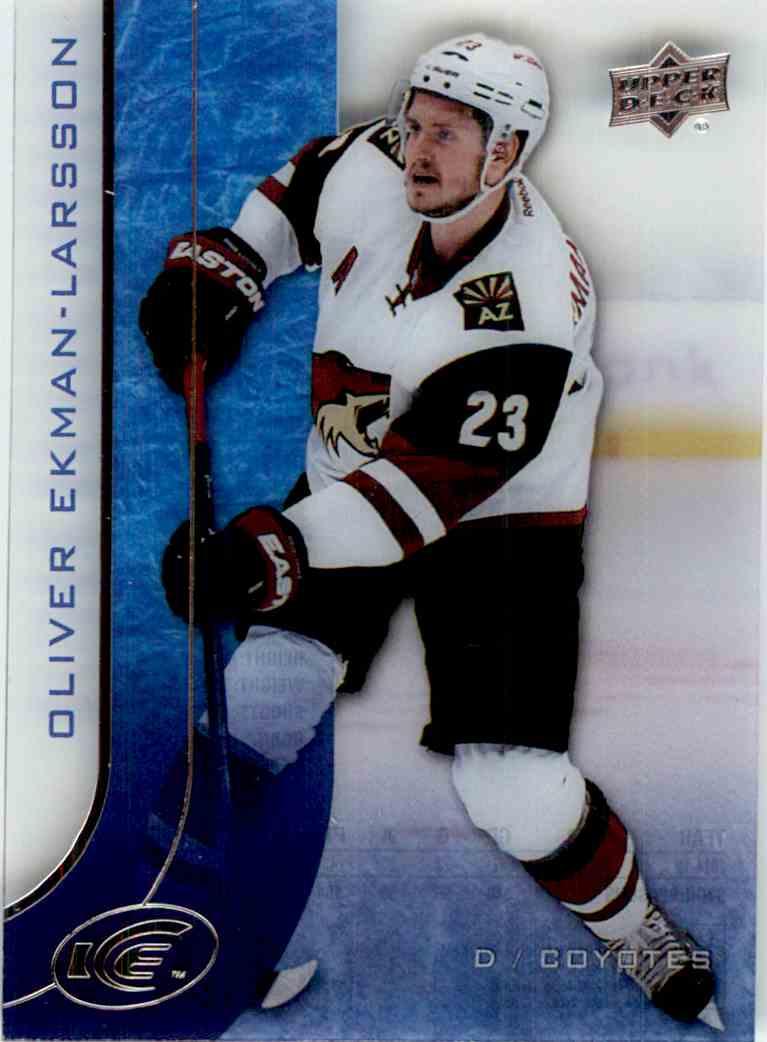 2015-16 Upper Deck Ice Oliver Ekman-Larsson #44 card front image