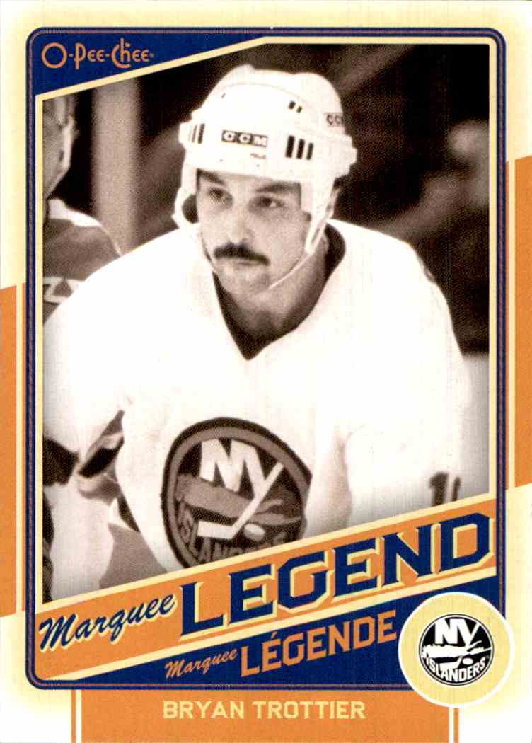 2012-13 O-Pee-Chee Marquee Legend Bryan Trottier #530 card front image