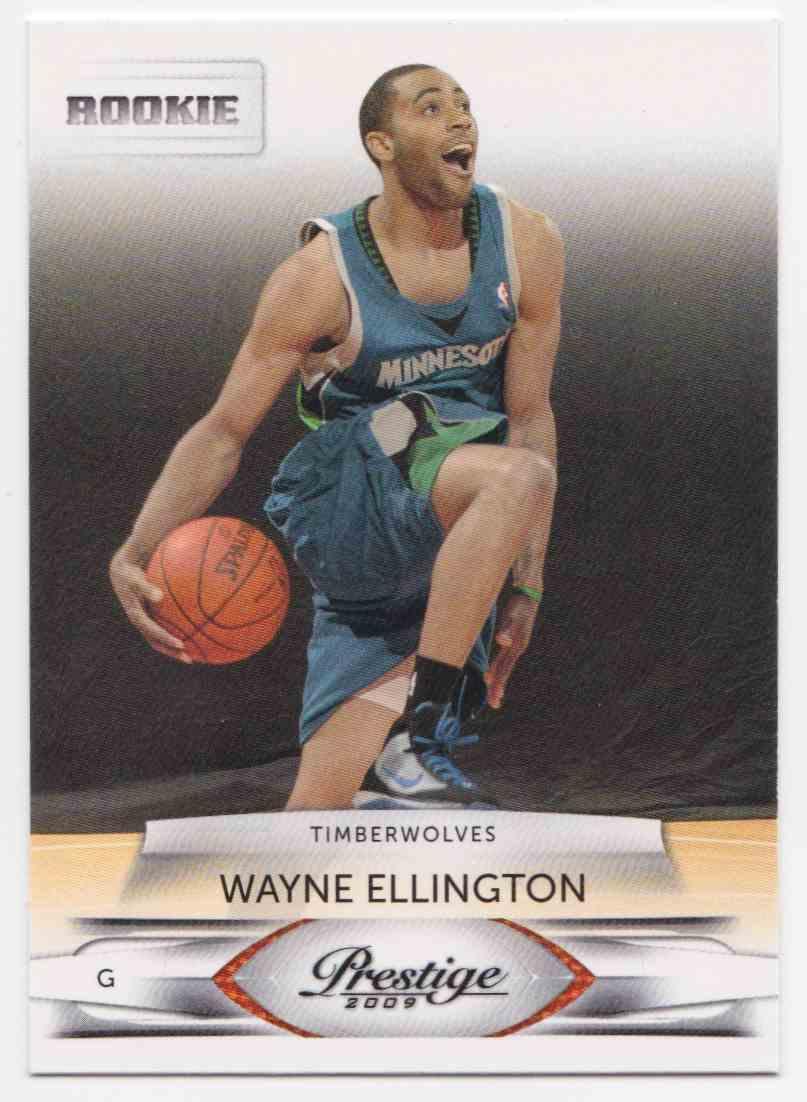 2009 10 Panini Prestige Base Wayne Ellington 178 On Kronozio