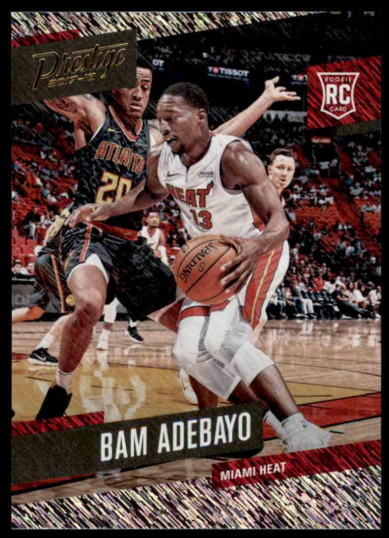 2017-18 Panini Prestige Bam Adebayo #164 card front image