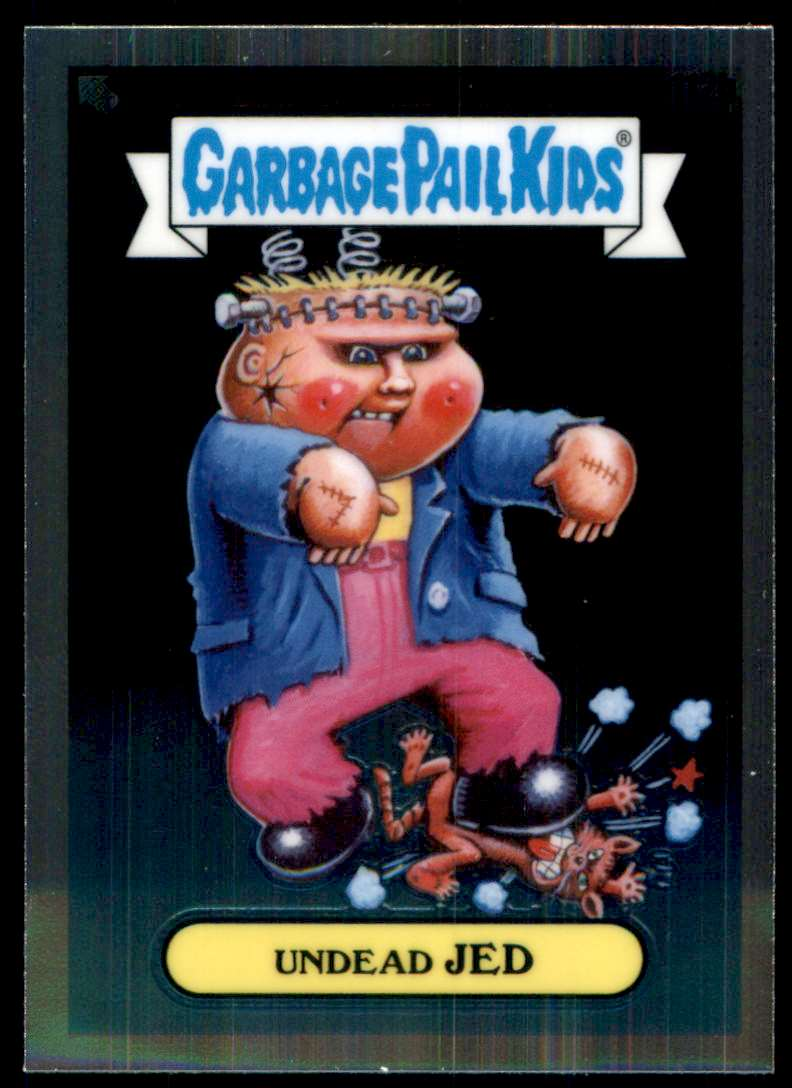2020 Garbage Pail Kids Chrome Series 3 Undead Jed #112B card front image