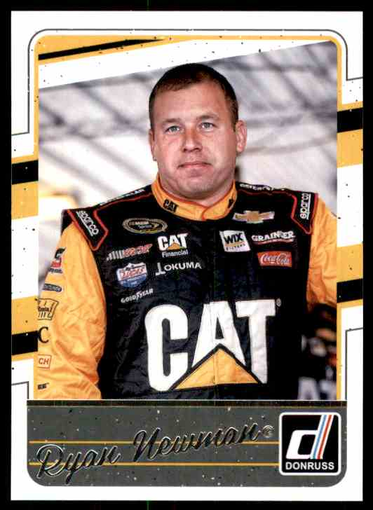 2017 Donruss Ryan Newman #60 card front image