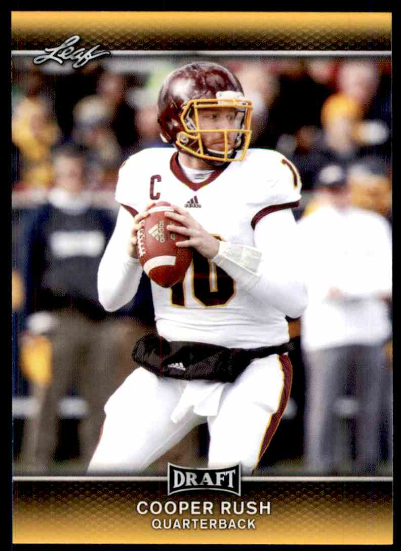 2017 Leaf Draft Cooper Rush #14 card front image