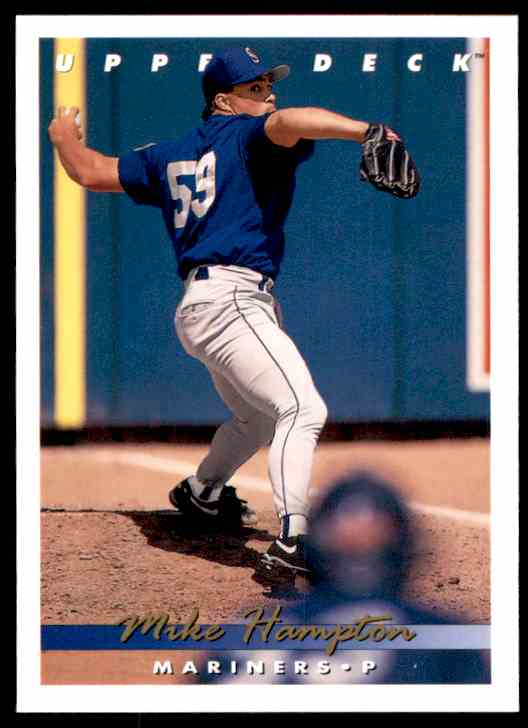 1993 Upper Deck Mike Hampton #783 card front image