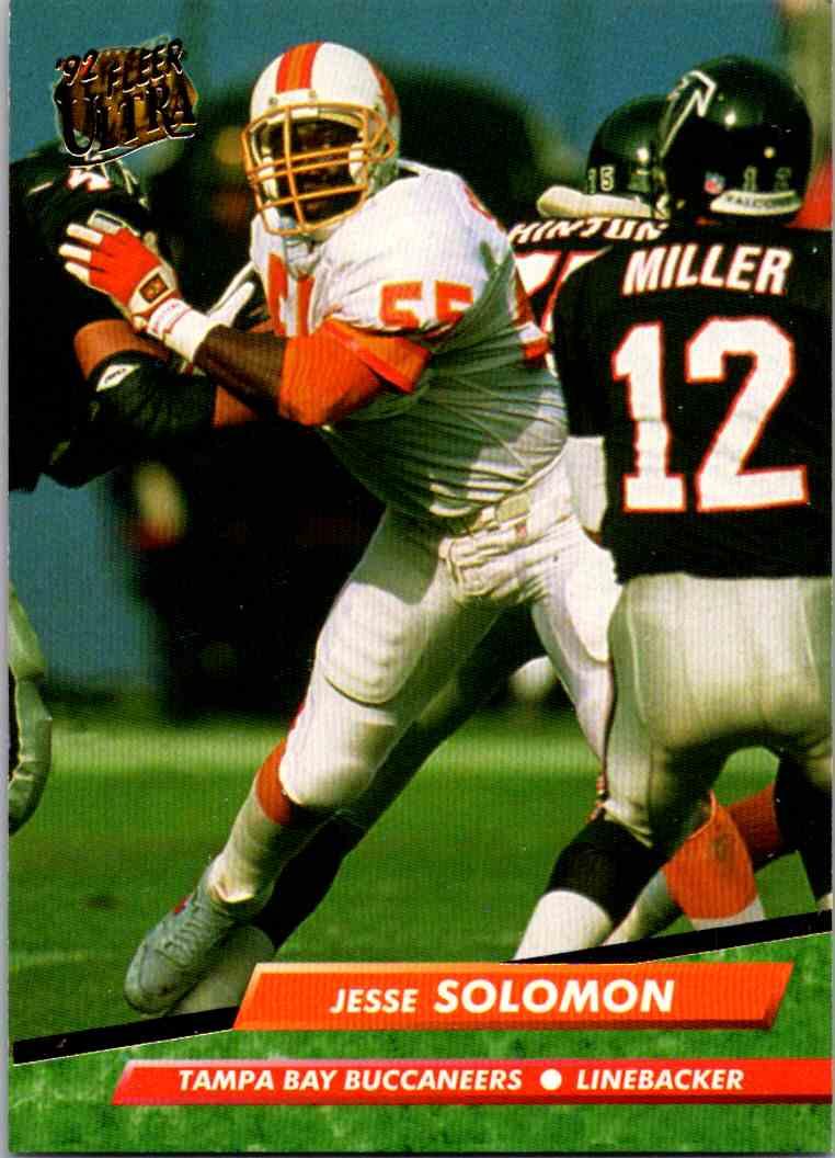 1992 Fleer Ultra Jesse Solomon #395 card front image