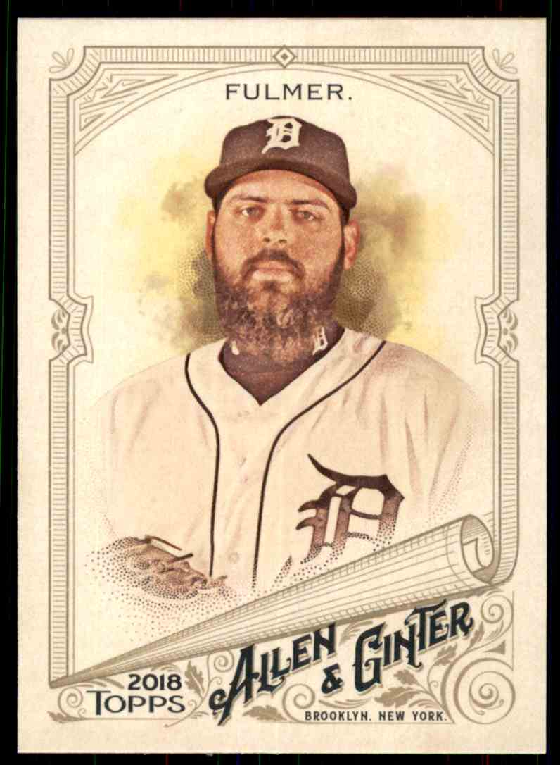 2018 Topps Allen & Ginter Michael Fulmer #104 card front image