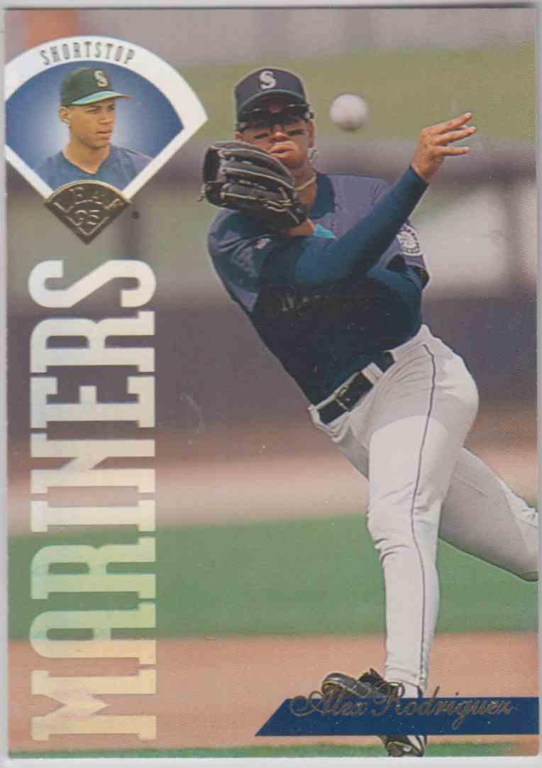 1995 Leaf Alex Rodriguez 313 On Kronozio