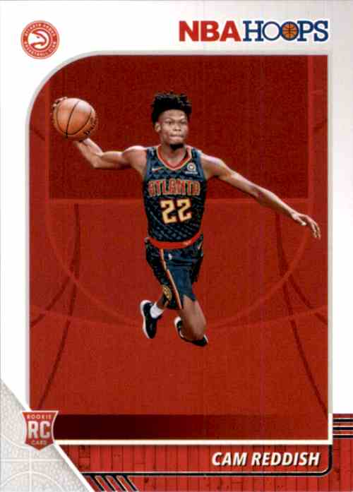 2019-20 Hoops Cam Reddish RC #207 card front image