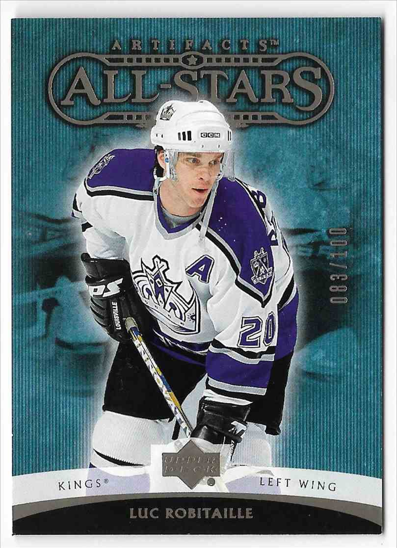2005-06 Upper Deck Artifacts Luc Robitaille #170 card front image