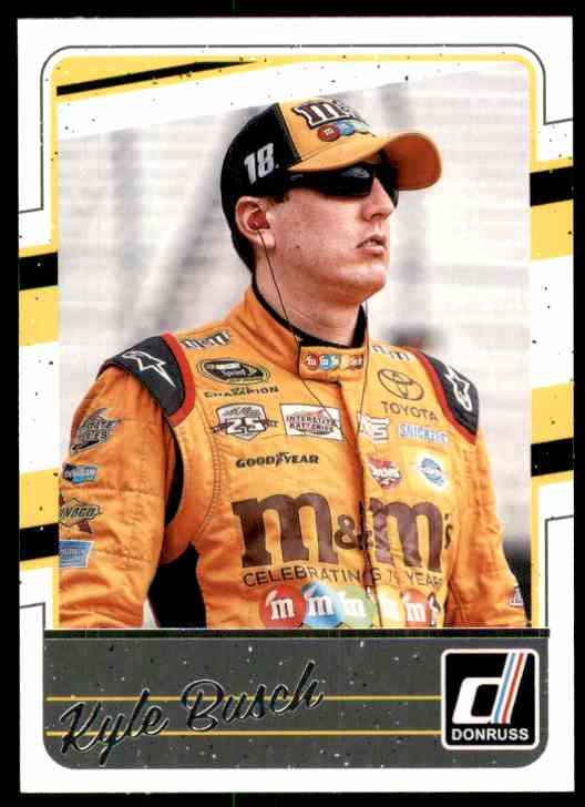 2017 Donruss Kyle Busch #44 card front image