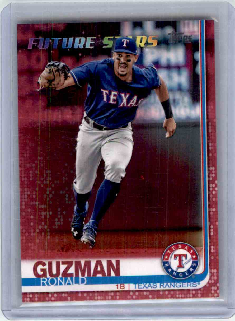 2019 Topps Mothers Day Pink Ronald Guzman card front image