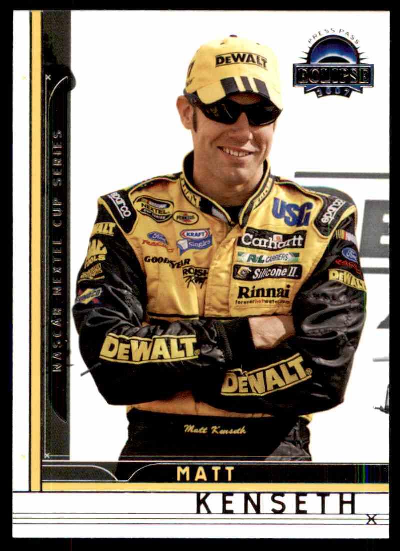 2007 Press Pass Eclipse Matt Kenseth #2 card front image
