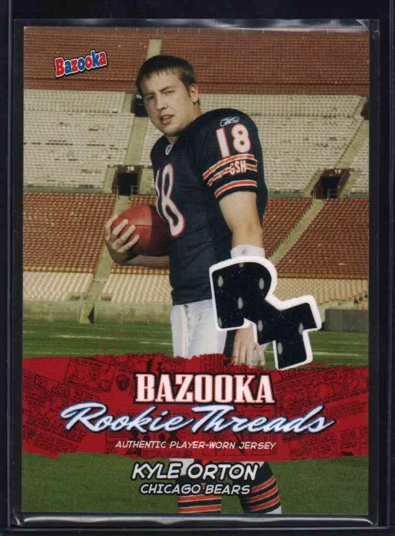 2005 Bazooka Kyle Orton #BZRKO card front image