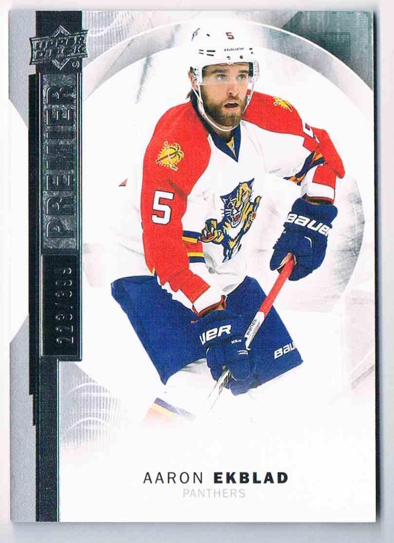 2015-16 Upper Deck Premier Aaron Ekblad #27 card front image