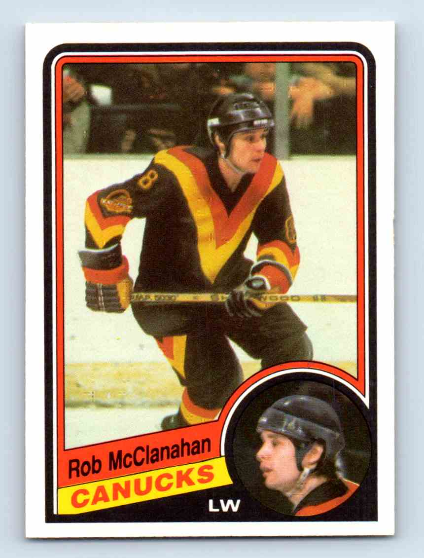 1984-85 O-Pee-Chee Rob McClanahan #325 card front image
