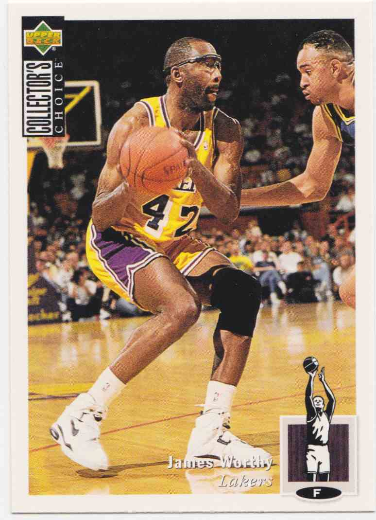 1994-95 Upper Deck Collector's Choice Base James Worthy #142 card front image