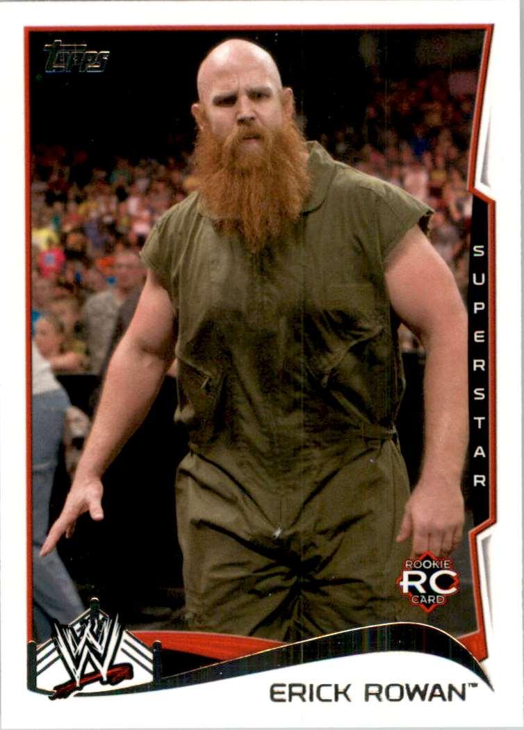 2014 Topps Wwe Erick Rowan #19 card front image