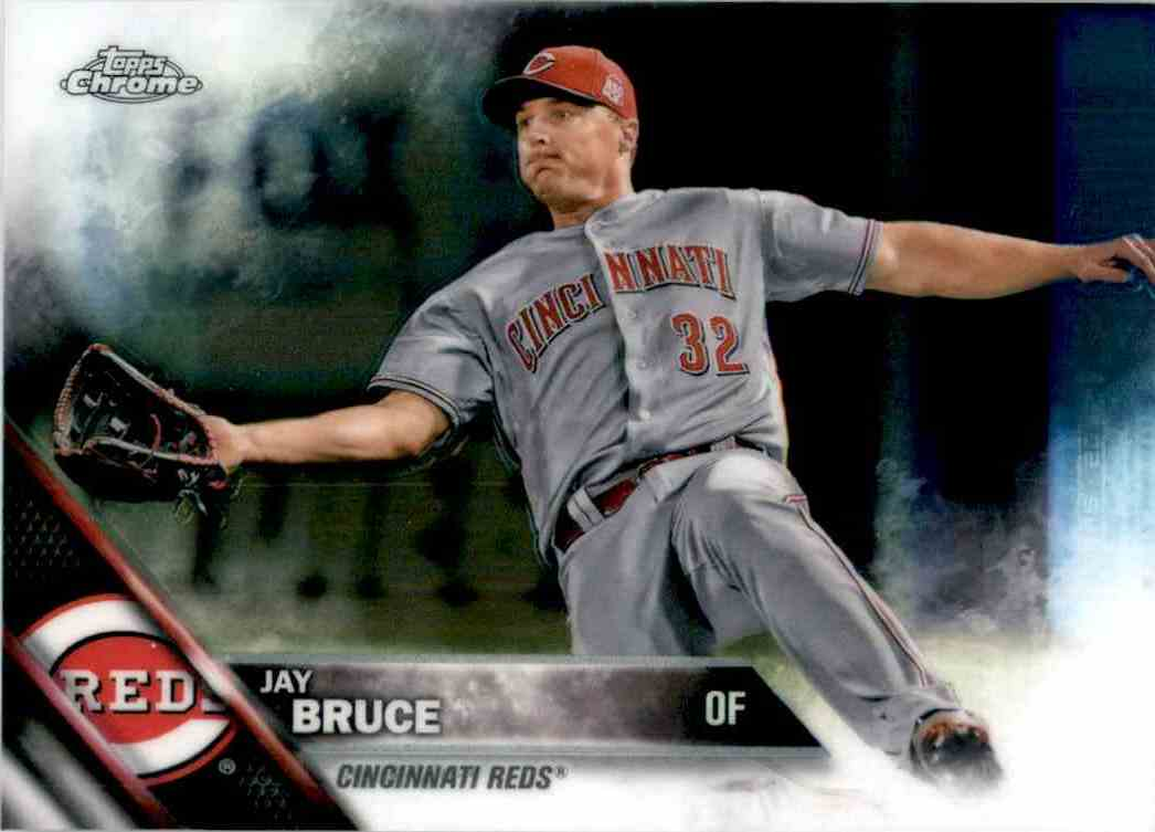 2016 Topps Chrome Jay Bruce #43 card front image