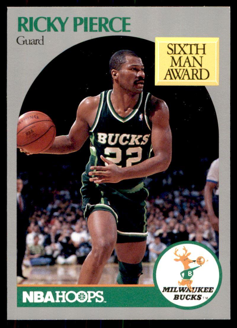 1990 91 Nba Hoops Ricky Pierce 179 on Kronozio