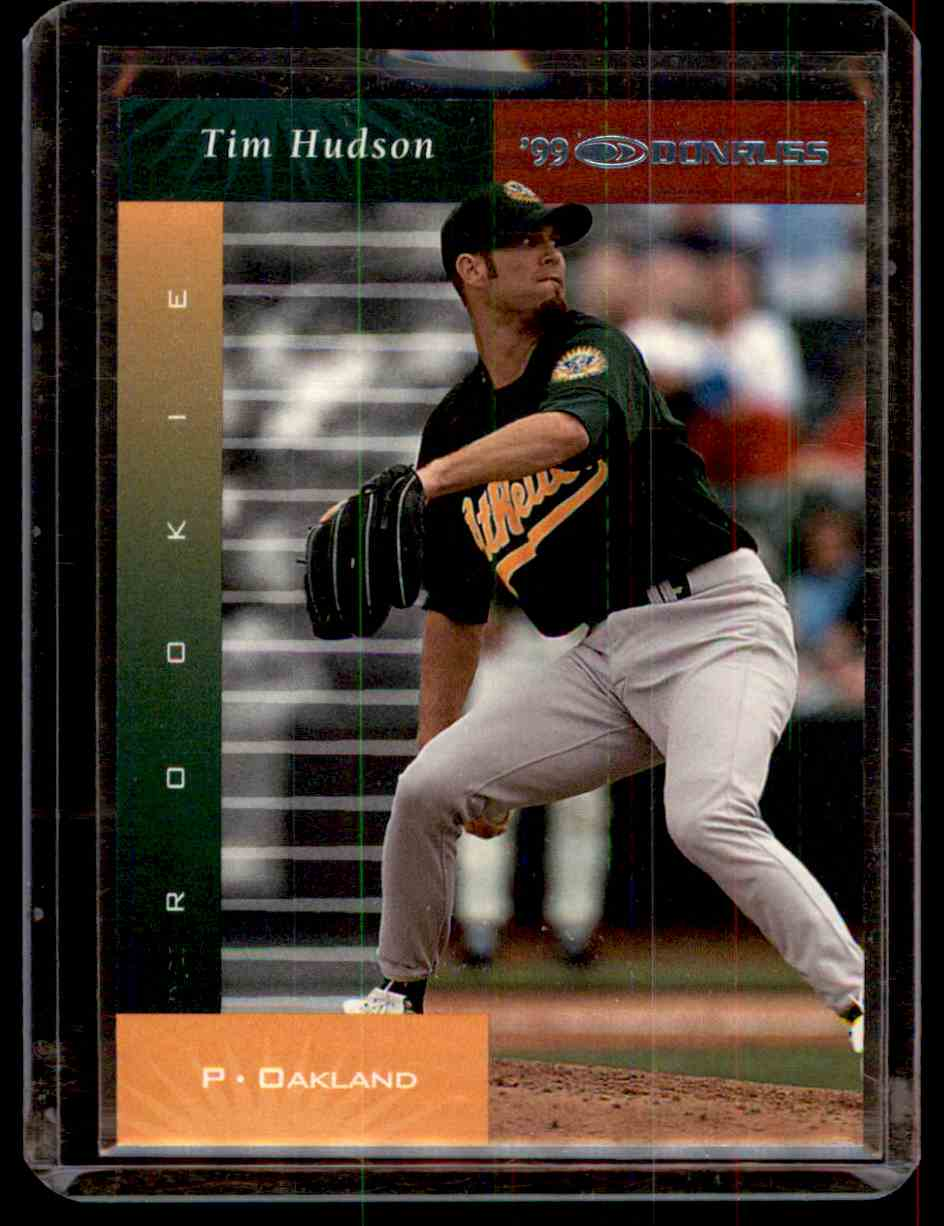 2001 Donruss 1999 Retro Tim Hudson #98 card front image