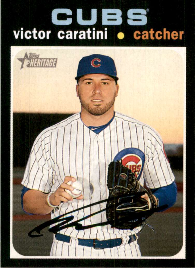 2020 Topps Heritage Victor Caratini #31 card front image