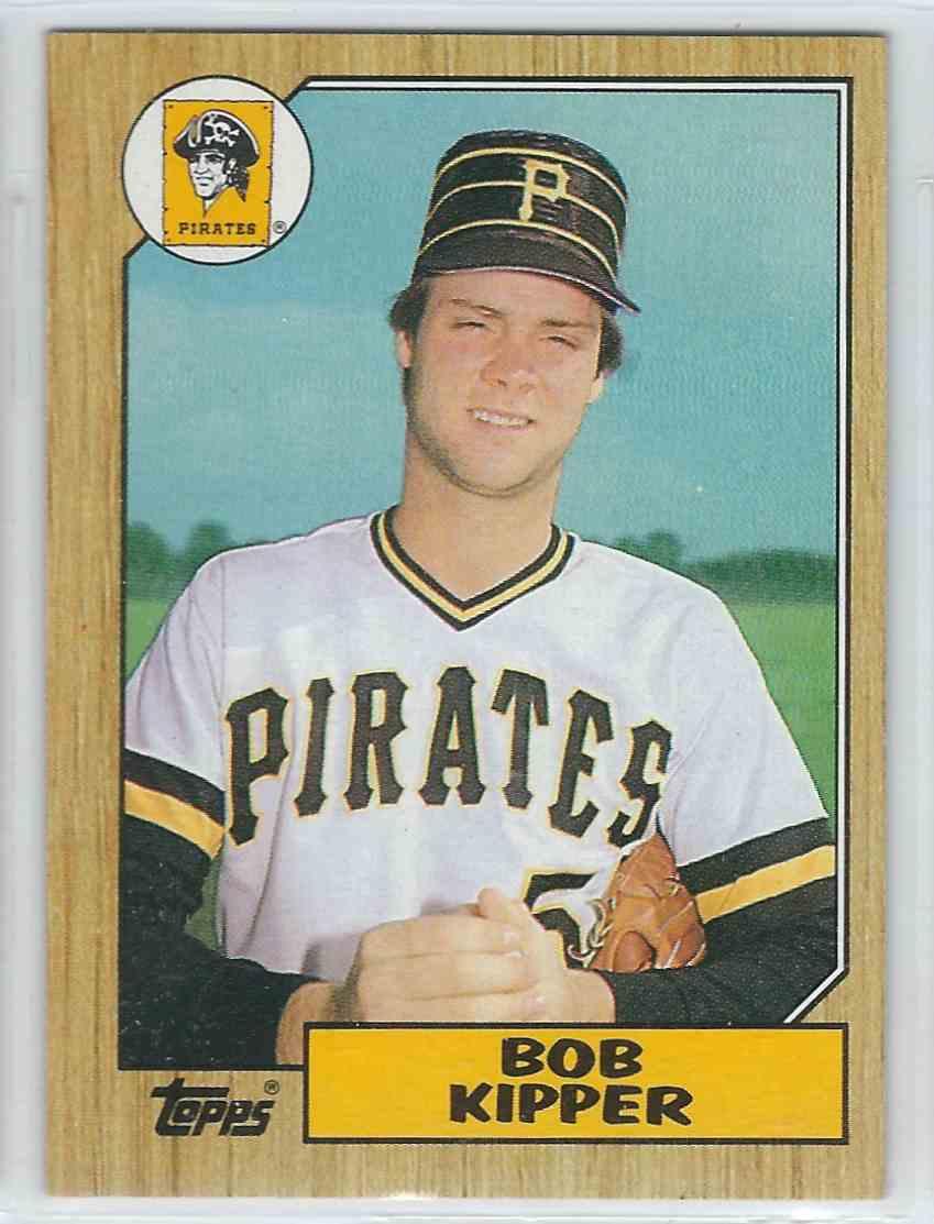 1987 Topps Topps Bob Kipper #289 card front image
