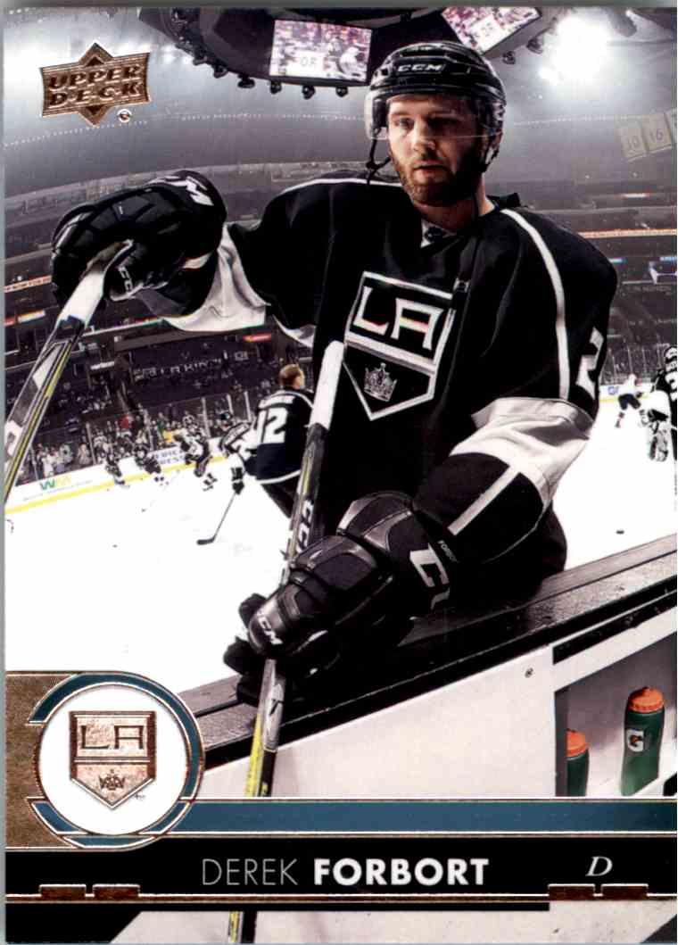 2017-18 Upper Deck Series 1 Derek Forbort #88 card front image