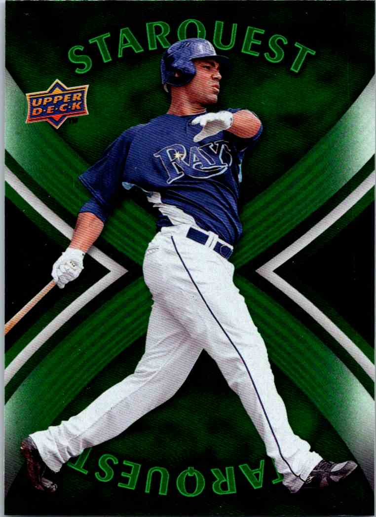 2008 Upper Deck First Edition Star Quest Carlos Pena #SQ-37 card front image