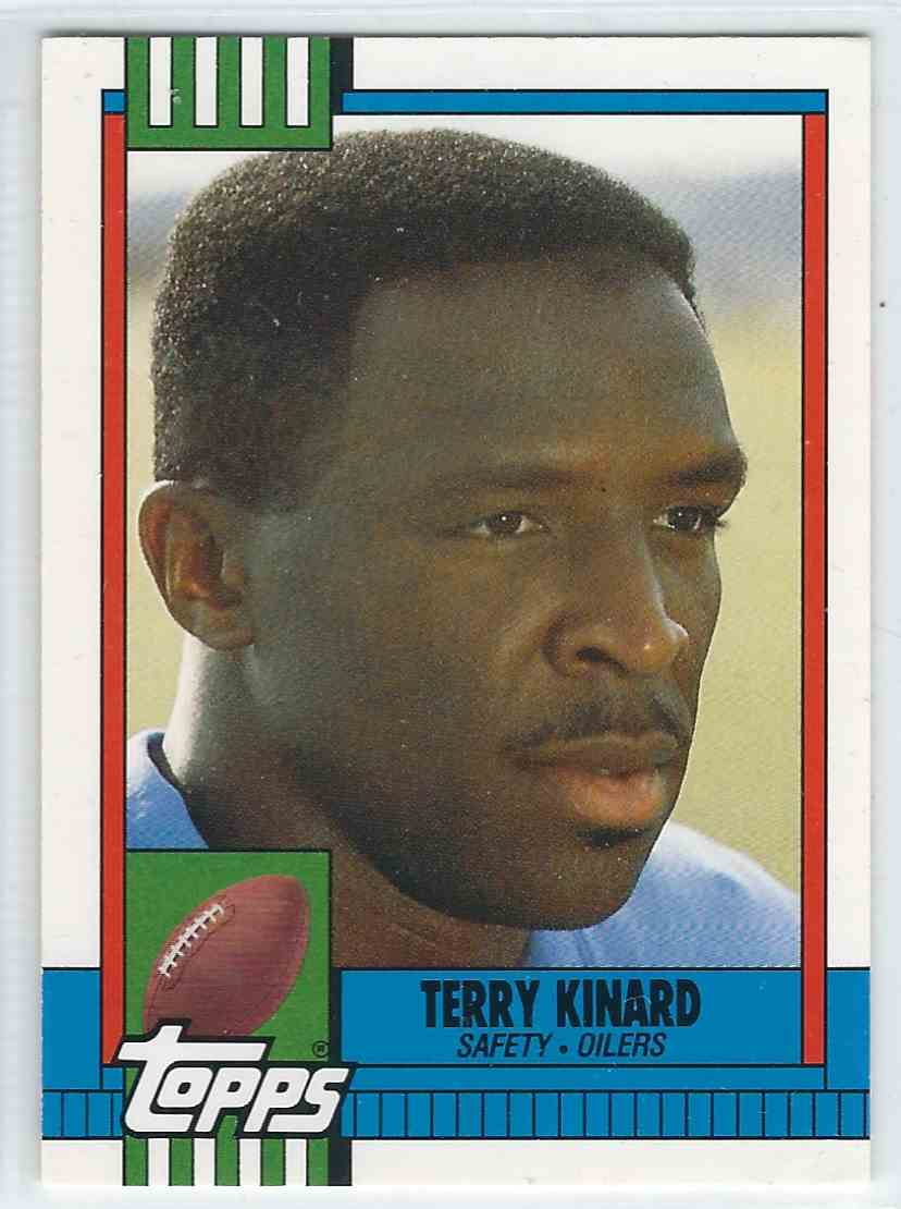 1990 Topps Traded Terry Kinard #18T card front image