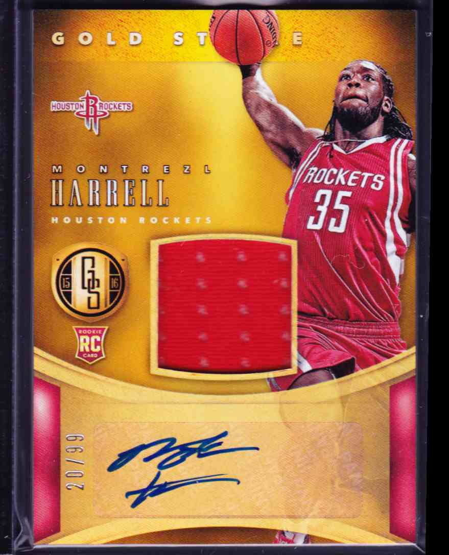 2015-16 Panini Gold Standard Montrezl Harrell card front image