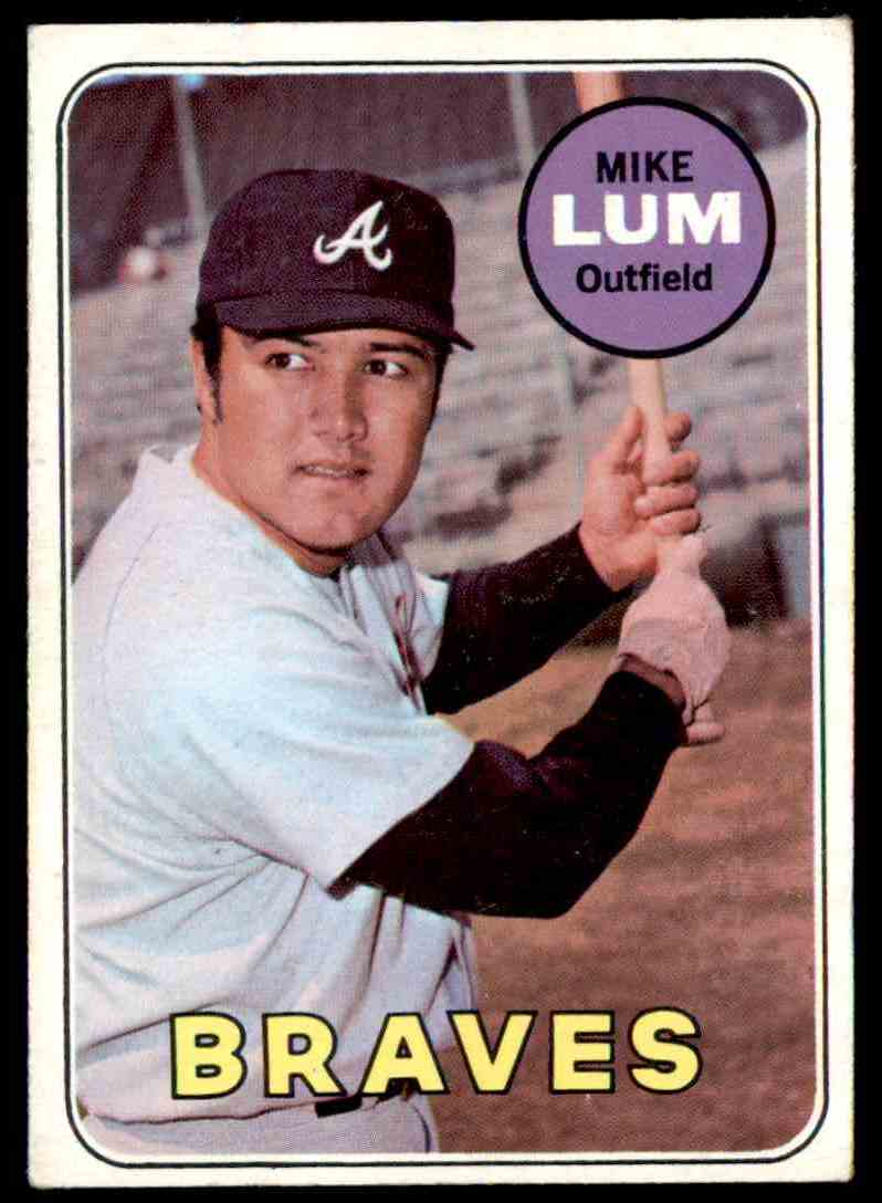 1969 Topps Mike Lum #514 card front image