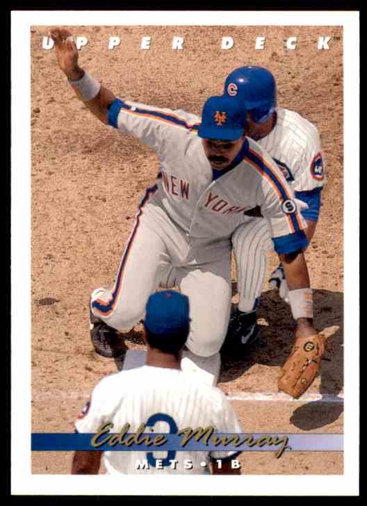 1993 Upper Deck Eddie Murray #115 card front image