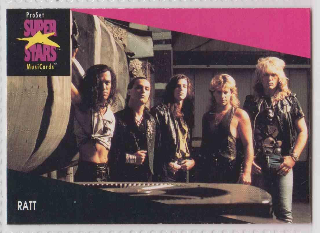 1991 Pro Set SuperStars MusiCards Ratt #224 card front image
