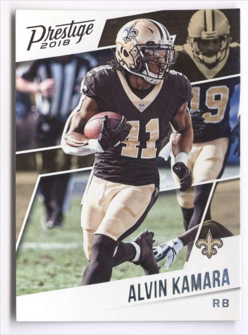 2018 Panini Prestige Alvin Kamara #190 card front image