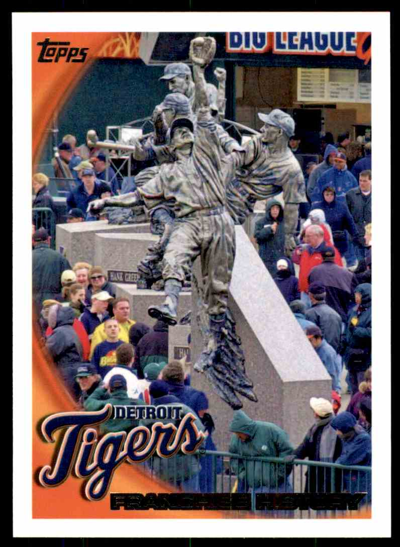 2010 Topps Detroit Tigers #408 card front image