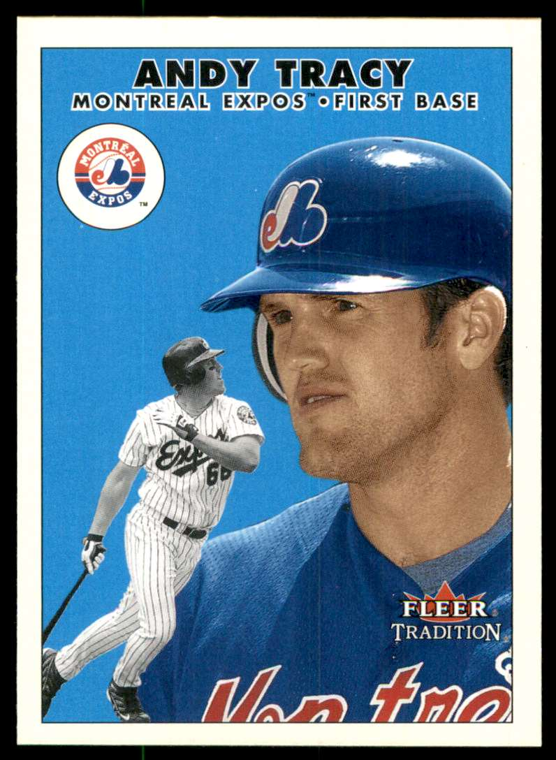 2000 Fleer Tradition Update Andy Tracy RC #U14 card front image