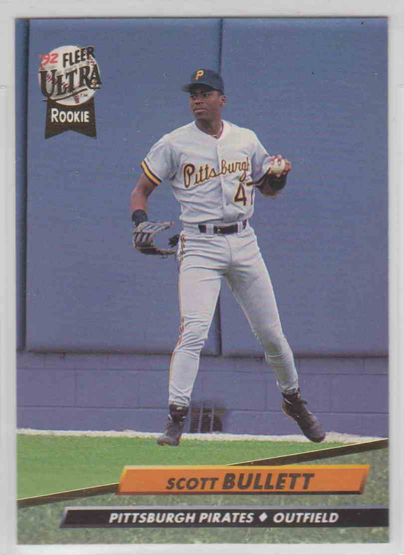 1992 Fleer Ultra Scott Bullett #551 card front image